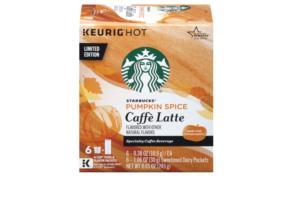 Starbucks unveils new flavours for Autumn