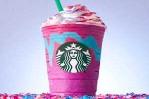 Starbucks launches limited edition colour and flavour changing unicorn Frappuccino