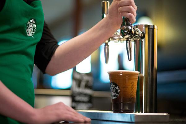 Starbucks Debuts Nitro Cold Brew In The Uk New Blended