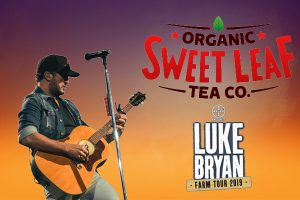 Sweet Leaf Tea partners with Luke Bryan on Farm Tour