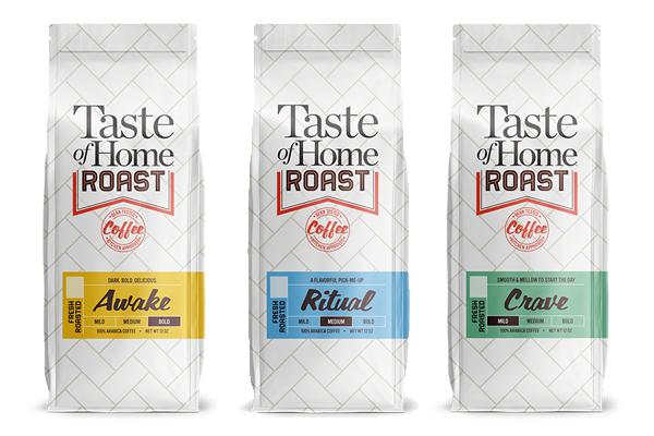 New line of coffee from Taste of Home