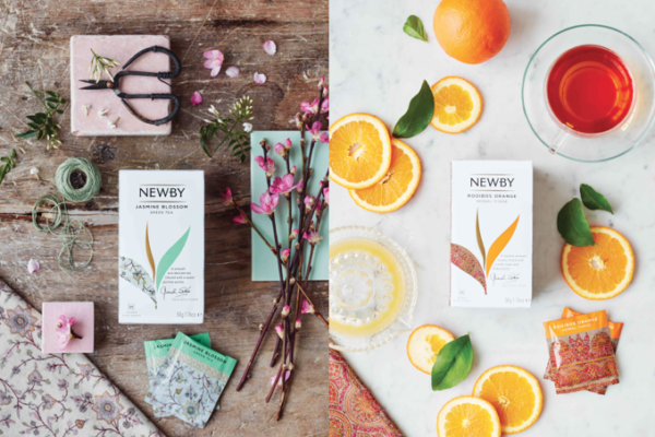 Newby Teas redesigns its Classic Tea Bag Collection