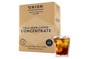 Union Hand-Roasted Coffee launches Cold Brew Concentrate