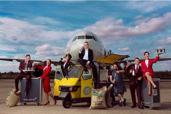 Change Please creates bespoke blend for Virgin Atlantic